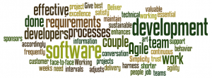 Agile Manifesto Wordle